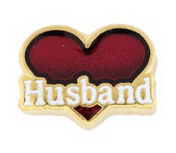 Charm, Heart, Husband, Set/3