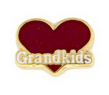 Charm, Heart, Grandkids, Set/3