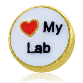 "Charm, ""Love My Lab"",  St/3"