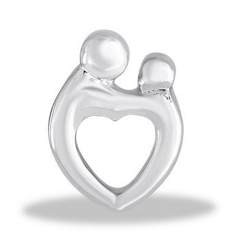Large Charm, Family Heart, Set/2