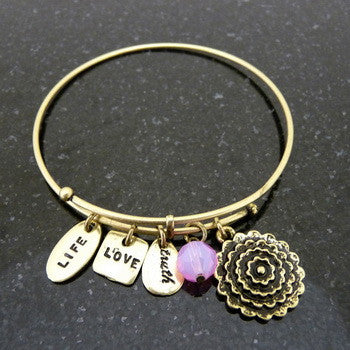 Bracelet, Love, Love Rose, Gold