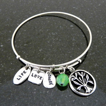 Bracelet, Faith, Tree of Life1, Silver