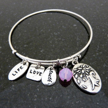 Bracelet, Faith, Tree of Life2, Silver