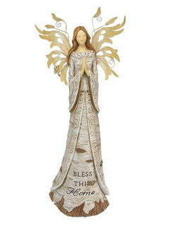 "Birch Bark Angel, ""Bless This Home"""