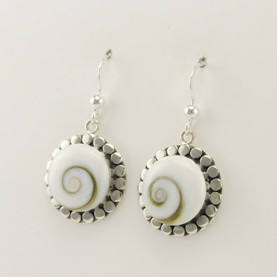 Shiva Shell Dangle Earrings