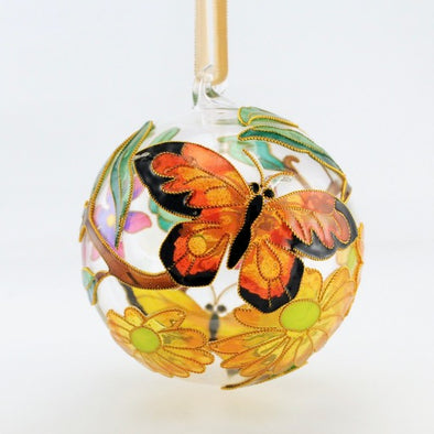 Cloisonné Glass Ball Ornament