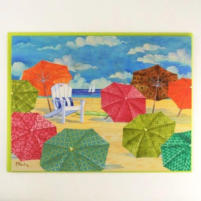 Sunnyside Umbrellas Blank Card