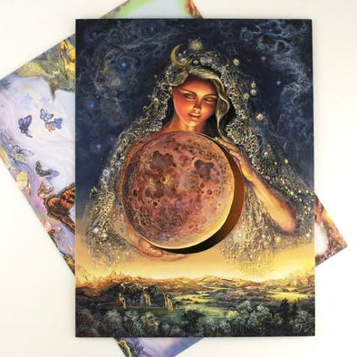 Moon Goddess Encouragement Card