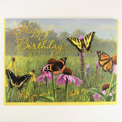 Butterfly Series Birthday Card