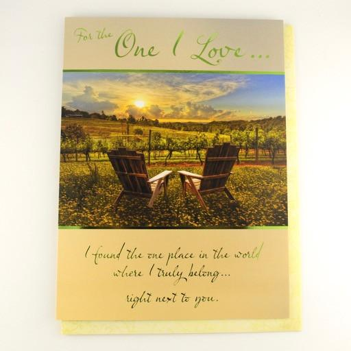 For the One I Love... Greeting Card