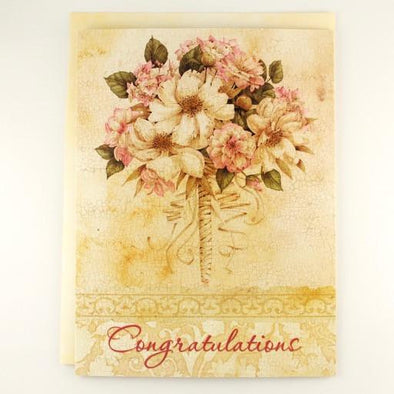 Wedding Florals Wedding Card