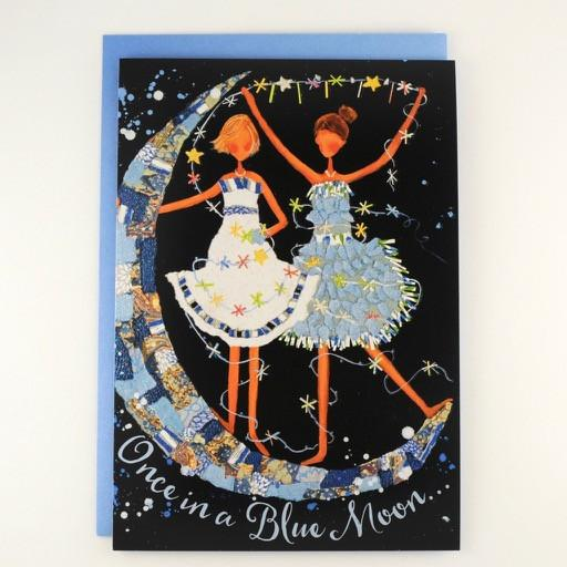 Once in a Blue Moon Friendship Card