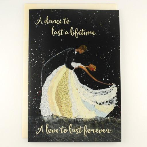 A dance to last a lifetime.. Wedding Card