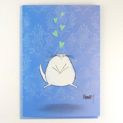 Kitten Love Thinking of You Card