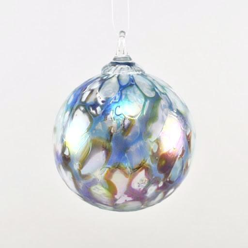 Glass Eye Classic Ornament Abalone