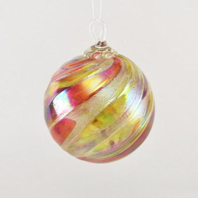 Glass Eye Classic Ornament Autumn Twist