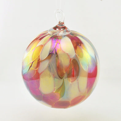 Classic Glass Ornament Coral Reef