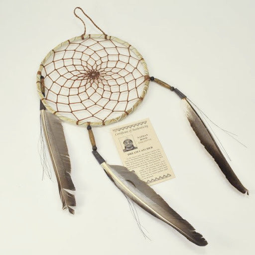 "Navajo 6"" Dreamcatcher Tan"
