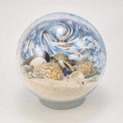 "Glass Eye 6"" Large Sea Globe Abalone"
