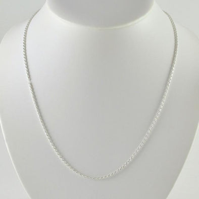 Sterling Silver 20 Inch Rope 035 Chain