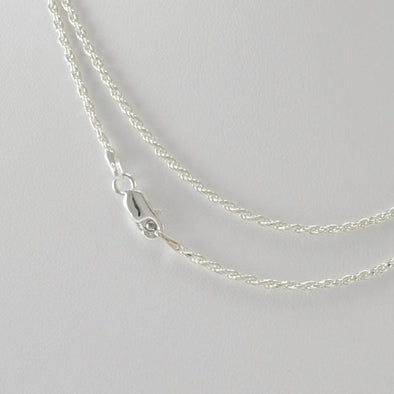 Sterling Silver 30 Inch Rope 035 Chain
