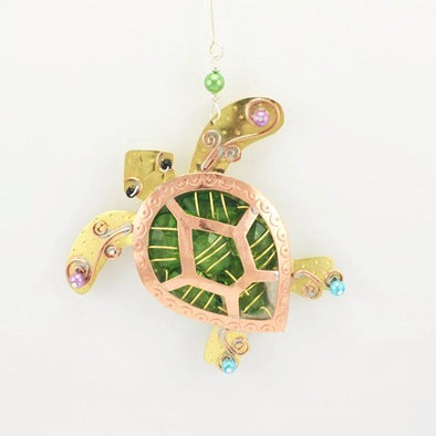 Gem Sea Turtle Ornament