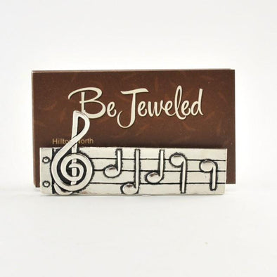 Music Business Card Holder