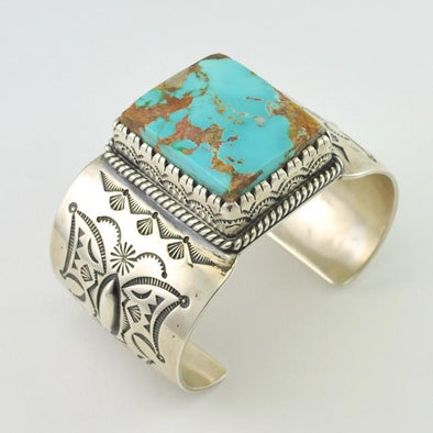 Sterling Silver Royston Turquoise Bracelet