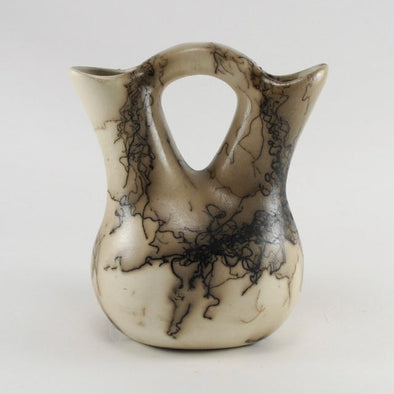 Horse Hair Wedding Vase by Tom Vail