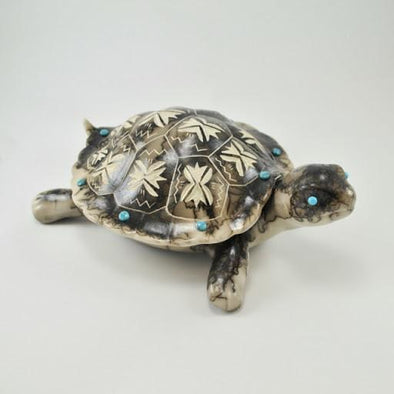 Tom Vail Jr Horse Hair Turtle Box