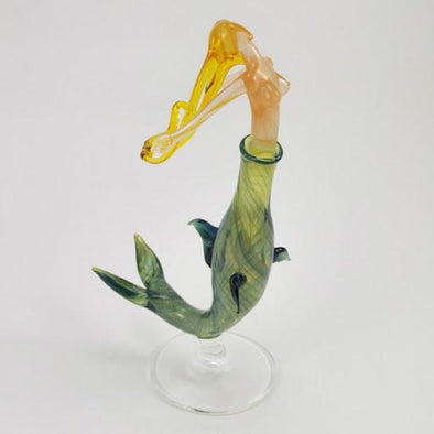 Glass Secret Scent Mermaid Perfume Bottle