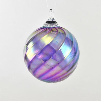 Glass Eye Classic Ornament Syrah Twist