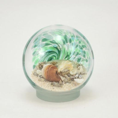 "Glass Eye 3.5"" Small Sea Globe Green"