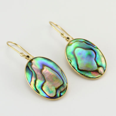 Alchemía Abalone Oval Dangle Earrings