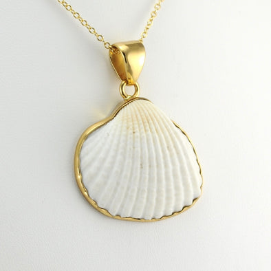 Alchemía White Ark Shell Large Pendant