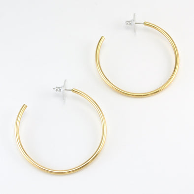 Alchemía 50mm Hoop Earrings