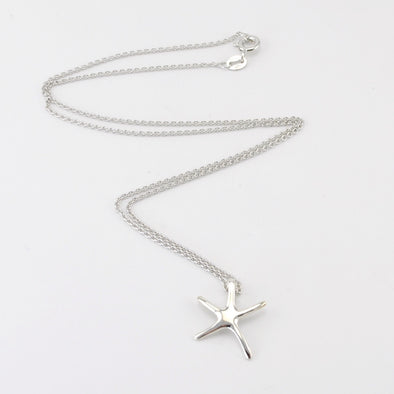 Silver Starfish Petit Necklace