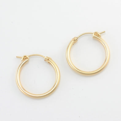 Gold Fill 20mm Hinged Hoop