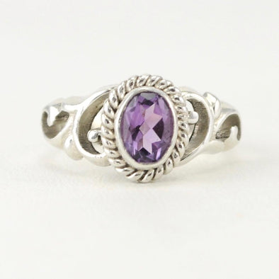 Amethyst 5x7mm Oval Ring