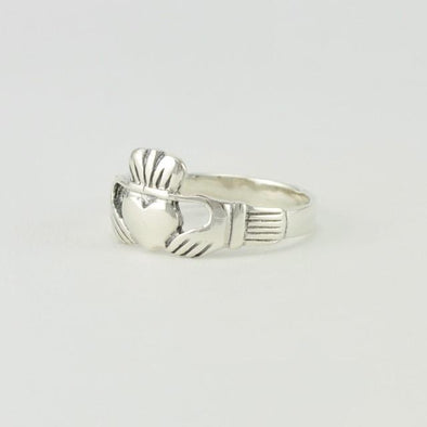 Sterling Silver Claddaugh Ring Size 7