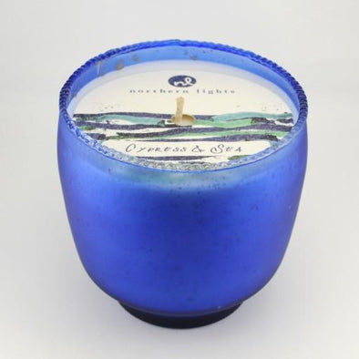 Tide Pool Tumbler 16oz Cypress and Sea Candle