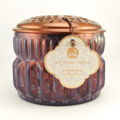 Vintage Opal Candle 9oz Dried Apricot and Cinnamon