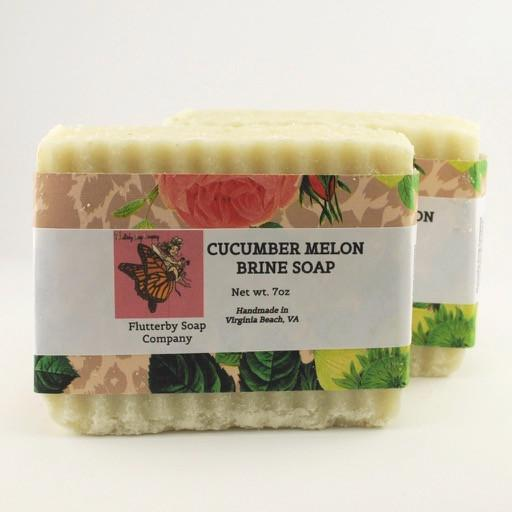 Cucumber Melon Brine Soap
