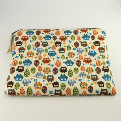 Tiny Owls Jewelry Zipper Pouch