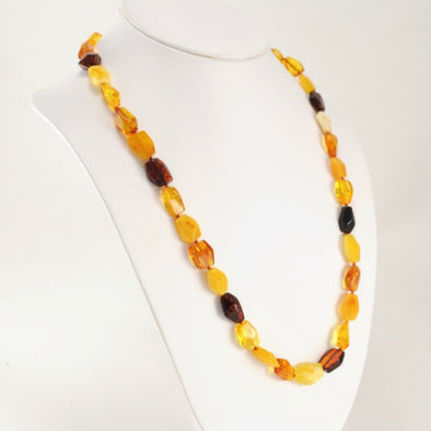 24 Inch Baltic Multicolored Necklace
