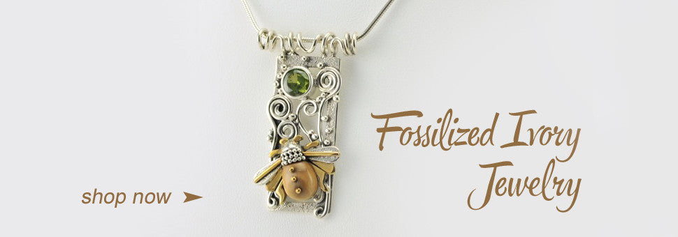 Fossilized Ivory Jewelry