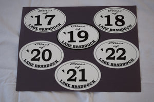 Lake Braddock Class Pride Decals