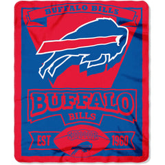 "NFL Buffalo Bills 50"" x 60"" Fleece Throw"