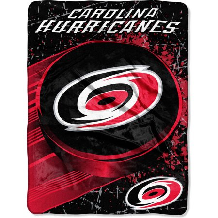 "NHL Carolina Hurricanes ""Ice Dash"" 46"" x 60"" Micro Raschel Throw Blanket"