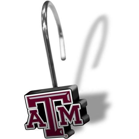 NCAA Texas A&M Aggies Shower Hooks 12-Pack